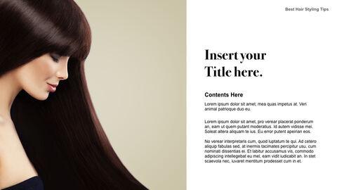 Best Hair Styling Tips Theme Keynote Design_03