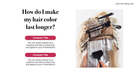 Best Hair Styling Tips Theme Keynote Design_05