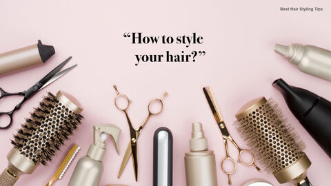 Best Hair Styling Tips Theme Keynote Design_06