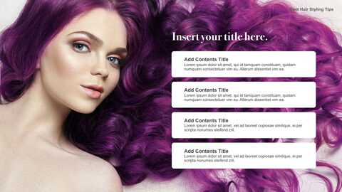 Best Hair Styling Tips Theme Keynote Design_03