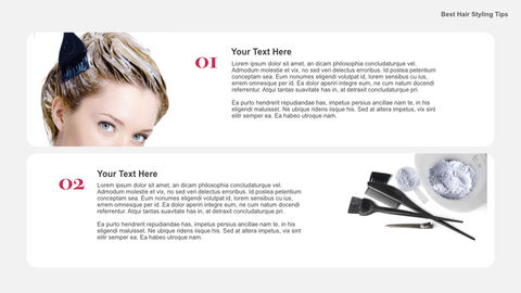 Best Hair Styling Tips Theme Keynote Design_04