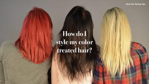 Best Hair Styling Tips Theme Keynote Design_19