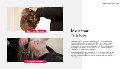 Best Hair Styling Tips Theme Keynote Design_21