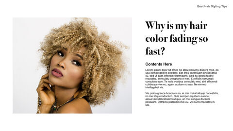 Best Hair Styling Tips Theme Keynote Design_28