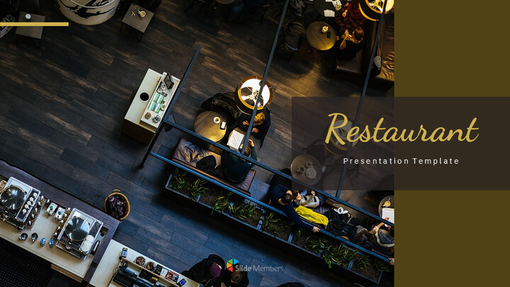 레스토랑 Google 슬라이드 테마 & 템플릿_01