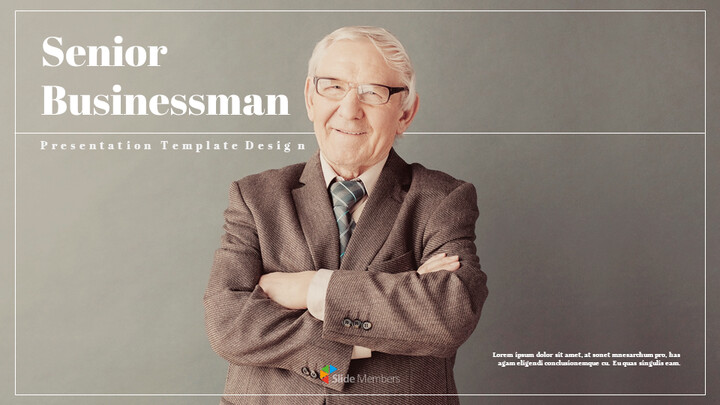 Senior Businessman Google Slides Themes for Presentations_01