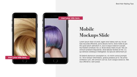 Best Hair Styling Tips Theme Keynote Design_39