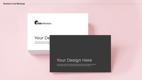 Business Card Mockups Keynote Examples_02