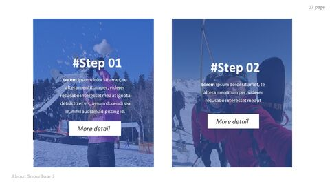 Basic Tips & Tricks About Snowboard Simple Google Slides Templates_02