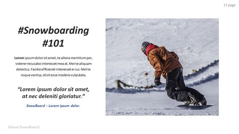 Basic Tips & Tricks About Snowboard Simple Google Slides Templates_04