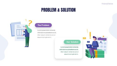 금융 서비스 그룹 디자인 슬라이드 심플한 구글슬라이드_03
