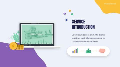 금융 서비스 그룹 디자인 슬라이드 심플한 구글슬라이드_04