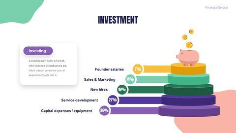 금융 서비스 그룹 디자인 슬라이드 심플한 구글슬라이드_05