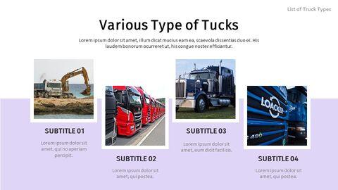 List of Trucks Best Google Slides_02