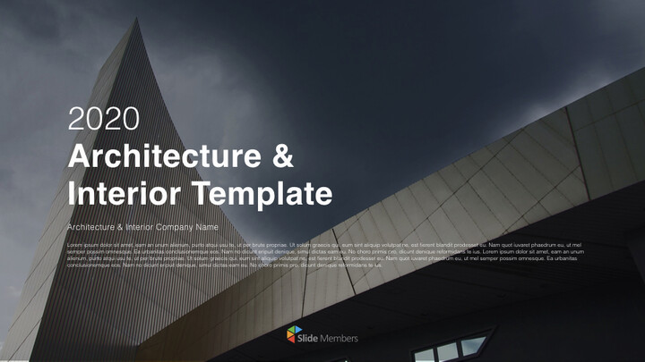 Architecture & Interior Simple Keynote Template_01