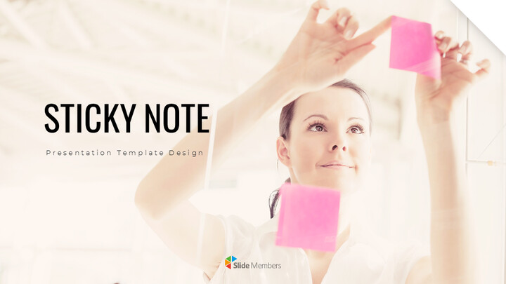 Sticky Note Google PPT Templates_01