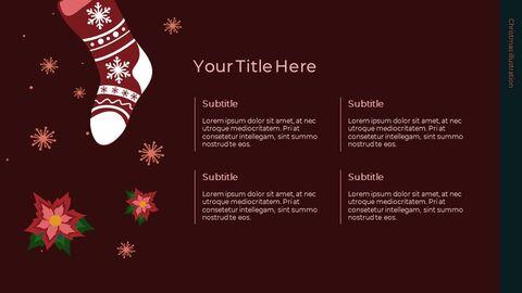 Christmas Illustration Google Slides_03
