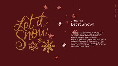 Christmas Illustration Google Slides_05