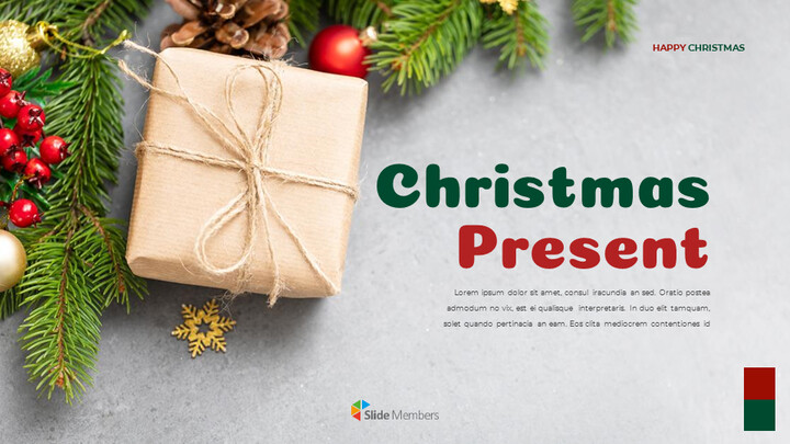 Christmas Present Google Slides Templates for Your Next Presentation_01