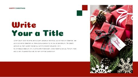 Christmas Present Google Slides Templates for Your Next Presentation_02