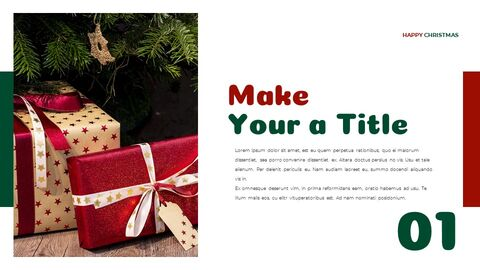 Christmas Present Google Slides Templates for Your Next Presentation_05