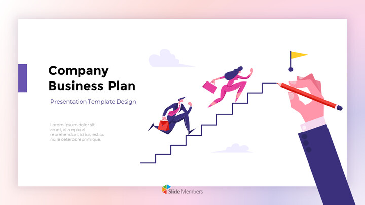 Company Business Plan Report Google presentation_01