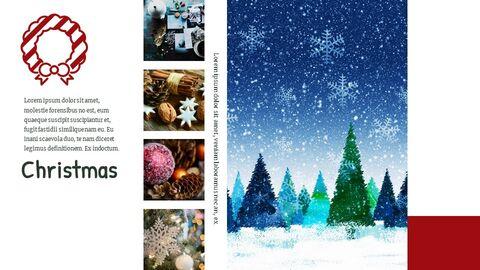 메리 크리스마스 편집이 쉬운 Google 슬라이드_02