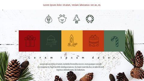 메리 크리스마스 편집이 쉬운 Google 슬라이드_04