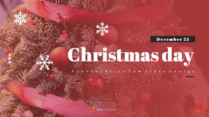 크리스마스 Google 프레젠테이션 템플릿_01