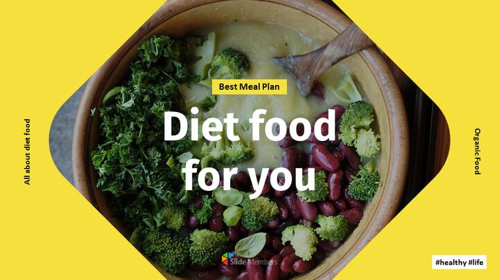 다이어트 음식 Google 프레젠테이션 슬라이드_01