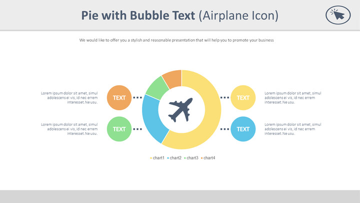 Pie with Bubble Text (Airplane Icon)_01