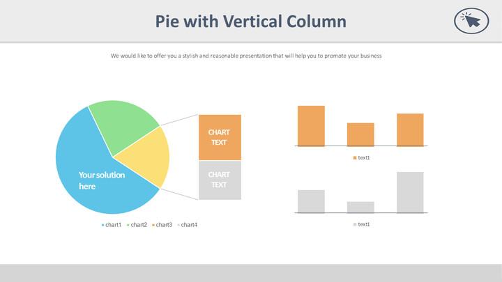 Pie with Vertical Column_01