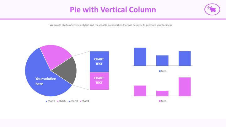 Pie with Vertical Column_02