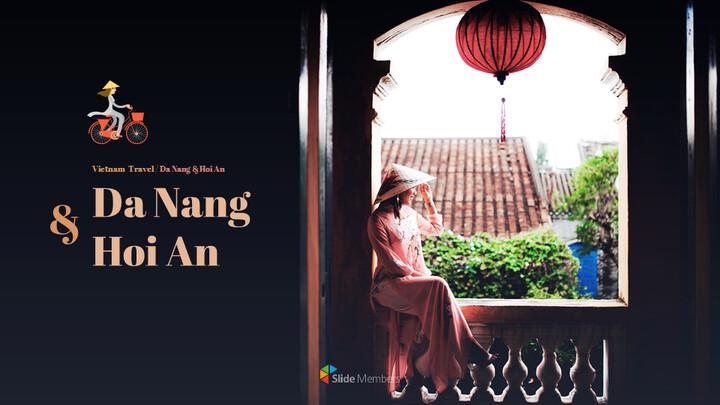 Da Nang & Hoi An Google PPT Templates_01