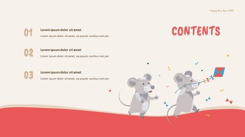 Happy New Year 2020 Easy PowerPoint Design_02