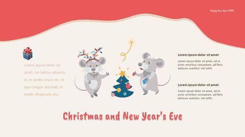 2020 해피뉴이어 (신년,새해) 모던한 PPT 템플릿_09