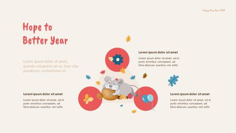 2020 해피뉴이어 (신년,새해) 모던한 PPT 템플릿_18