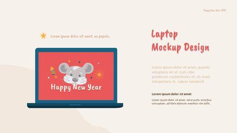 2020 해피뉴이어 (신년,새해) 모던한 PPT 템플릿_22