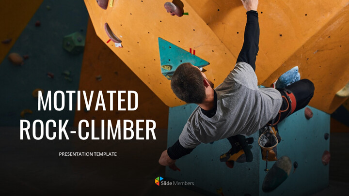 Motivated rock-climber Google Slides Themes_01