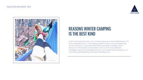겨울 캠핑 테마 Google 슬라이드_04