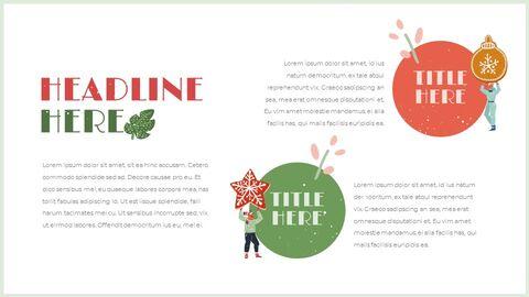 행복한 크리스마스 편집이 쉬운 구글 슬라이드 템플릿_05