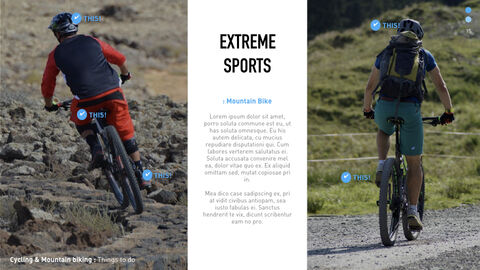 산악 자전거 크리에이티브 키노트 템플릿_05