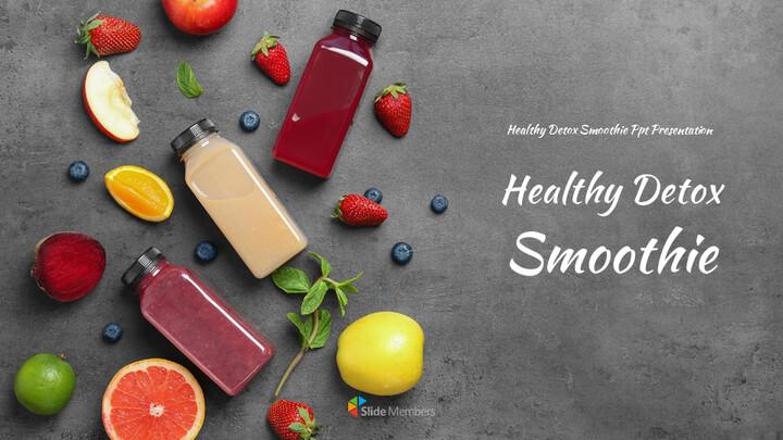 Healthy Detox Smoothie Easy Slides Design_01