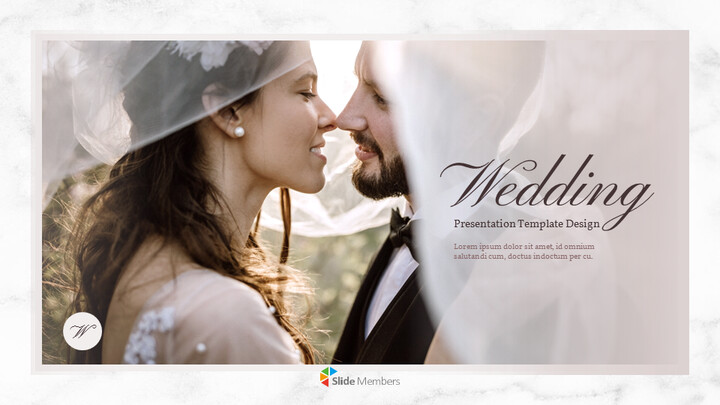 Beautiful Wedding Google Slides Themes for Presentations_01