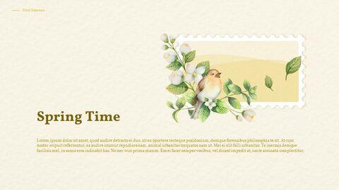 Four Seasons Watercolor Design Presentation Google Slides Templates_02