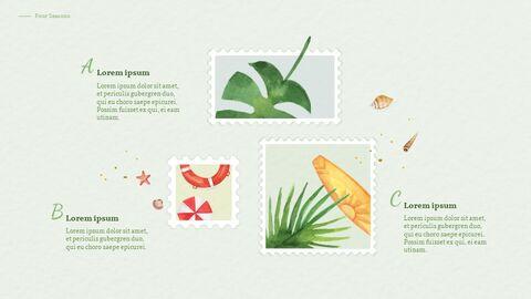 Four Seasons Watercolor Design Presentation Google Slides Templates_03