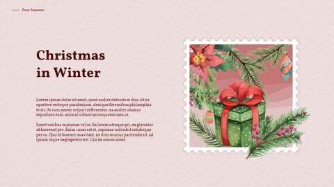 Four Seasons Watercolor Design Presentation Google Slides Templates_05