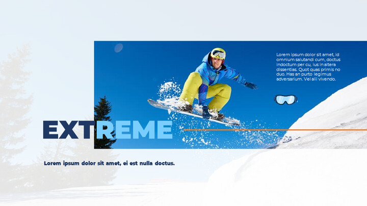 스노우 보드 & 스키 프레젠테이션 템플릿_02