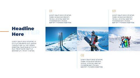 스노우 보드 & 스키 프레젠테이션 템플릿_03
