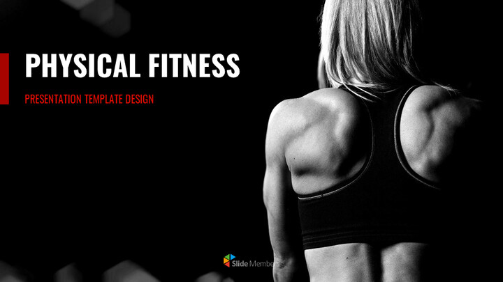 Physical Fitness Simple Google Slides Templates_01